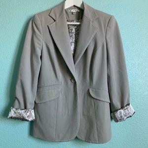 CAbi #832 Dynamo Mist single-button jacket